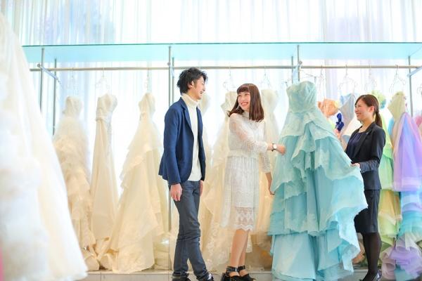 新潟県三条市 長岡市 新潟市 結婚式場 グラツィエ パーソナルカラー カラードレス