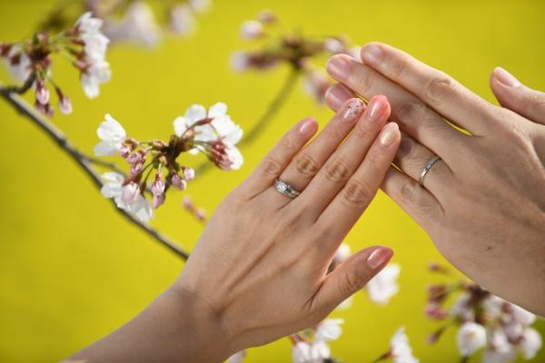 新潟県三条市 新潟市 長岡市 結婚式場 卒花嫁さま 手元ショット オシャレ プレ花嫁