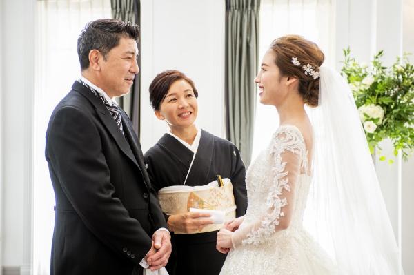 結婚式を諦められない花嫁さまへ アットホームな結婚式ができる 家族