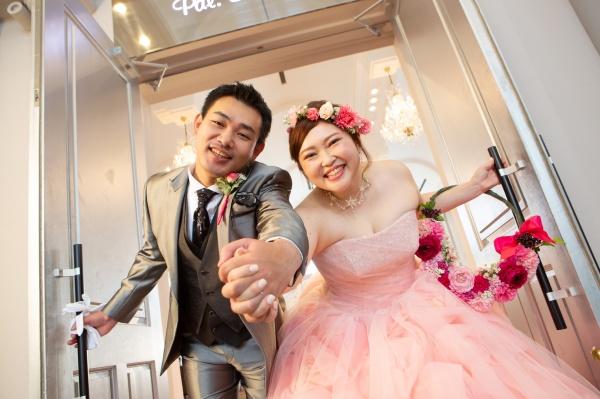 新潟県三条市 新潟市 長岡市 結婚式場 グラツィエ カラードレス 前撮り