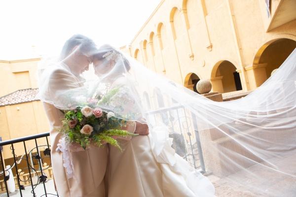 新潟県三条市 新潟市 長岡市 結婚式場 グラツィエ ウェディングドレス 前撮り ベール