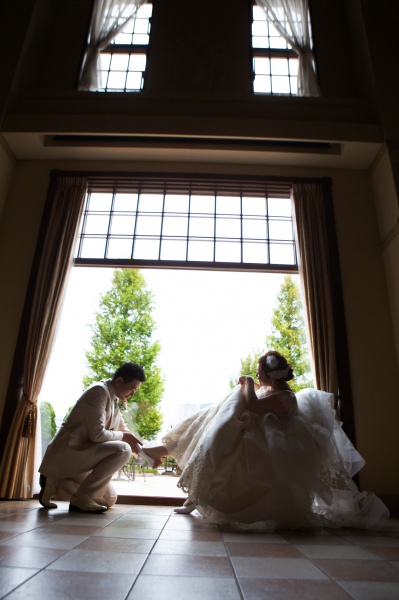 新潟県三条市 新潟市 長岡市 結婚式場 グラツィエ ウェディングドレス 前撮り シルエット