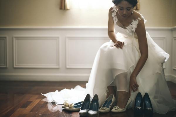 【足元までオシャレを楽しみたい花嫁さま必見♥】ブライダルシューズにもこだわって素敵花嫁になろう♪