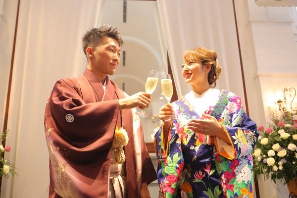 【ウェディングレポート◆ゲストに喜んでもらいたい!】~おふたりの思い描く結婚式が叶った日♥~