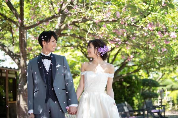 新潟県三条市 新潟市 長岡市 結婚式場 前撮り ウェディングフォト 出張 ドレス