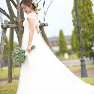 【新作ドレスのご紹介♡】バックスタイルにリボンが可愛いっ❤オシャレに着こなしたい花嫁様におすすめドレス!