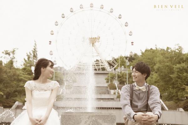 新潟県三条市 結婚式場 長岡市 新潟市 前撮り フォトウェディング 出張 遊園地 サントピアワールド