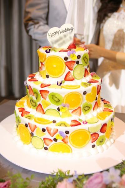 新潟県三条市 結婚式場 長岡市 新潟市 ウェディングケーキ サプライズ ケーキサーブ 演出 アイディア 披露パーティ