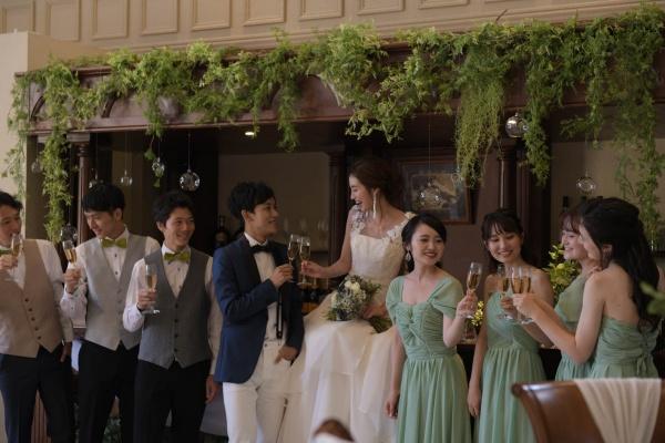 【結婚式の始まりを告げる乾杯酒】取り揃えているシャンパンのラインナップをご紹介♩