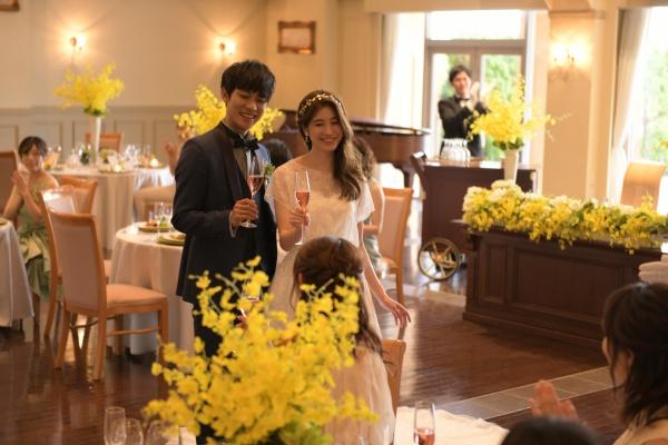 【結婚式の始まりはシャンパンで乾杯◆】乾杯酒に込められた素敵な意味合い知ってますか?
