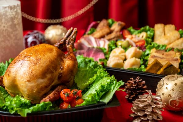 香ばしいが溢れる!【数量限定◆オリジナルローストチキン】おうちクリスマスは贅沢な時間を堪能しよう♪