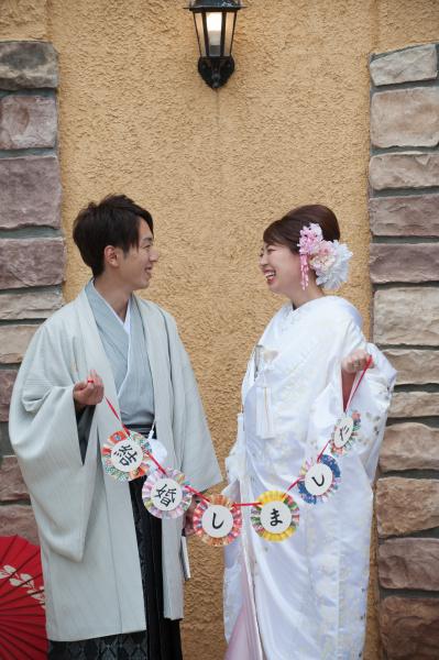 新潟県三条市 新潟市 長岡市 結婚式場 ブライダルフェア 和装 白無垢 髪型 洋髪