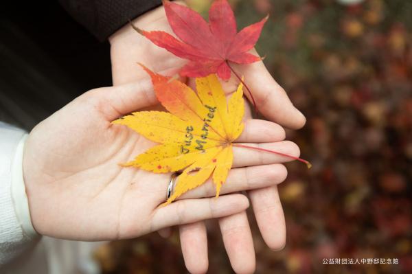 【秋の紅葉◆大人気スポット】第2弾!四季を思いっきり楽しんだウェディングフォト!?