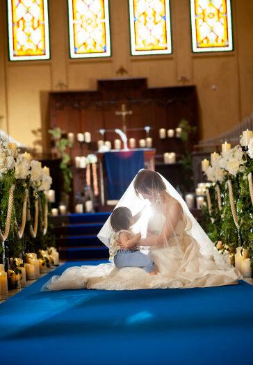 パパママキッズ婚 マタニティ婚 新潟県三条市 長岡市 新潟市 結婚式場 ウェディングフォト 前撮り ウェディングドレス