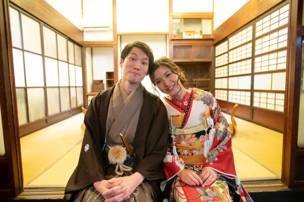 新潟県三条市 結婚式場 ピアザデッレグラツィエ 前撮り 出張 和装