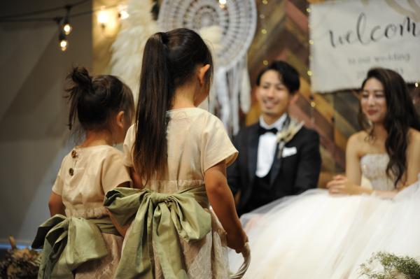 新潟県三条市 新潟市 長岡市 結婚式場 パパママキッズ婚 ファミリー婚 家族婚 演出 お子様