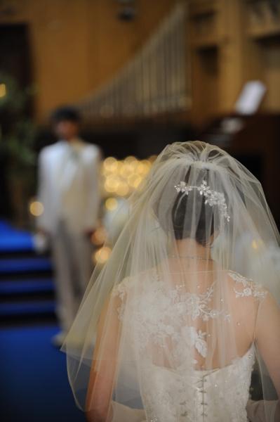 新潟県三条市 新潟市 長岡市 結婚式場 ベールアップ ベールダウン チャペル式 バージンロード