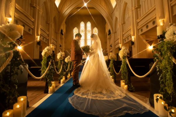 【ウェディングレポート◆笑顔溢れる結婚式!】楽しくて面白いことが大好き!結婚式への想いが新郎新婦から届きました!~
