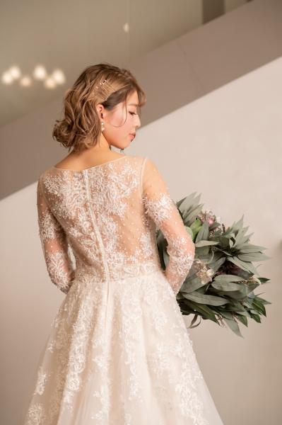 新潟県三条市 長岡市 新潟市 結婚式場  インスタライブ ウェディングドレス