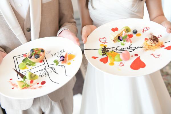 新潟県三条市 長岡市 新潟市 結婚式場 デザートプレート 宴会 納涼会 貸切