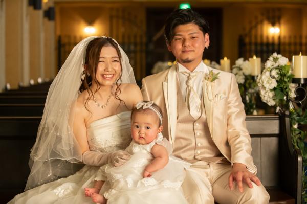 【パーティーレポート◆幸せいっぱいのパパママ婚】天使が舞い降りた笑顔いっぱいの家族婚レポート❤Part2