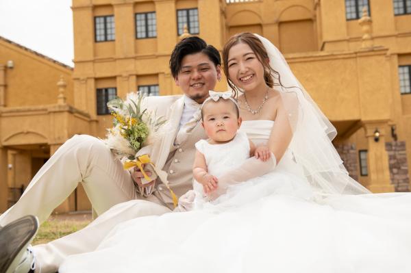 【パーティーレポート◆幸せいっぱいのパパママ婚】天使が舞い降りた笑顔いっぱいの家族婚レポート❤