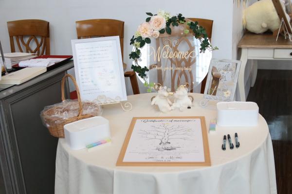 新潟県三条市 長岡市 新潟市 結婚式場 ピアザデッレグラツィエ 人前式 感謝 グッズ