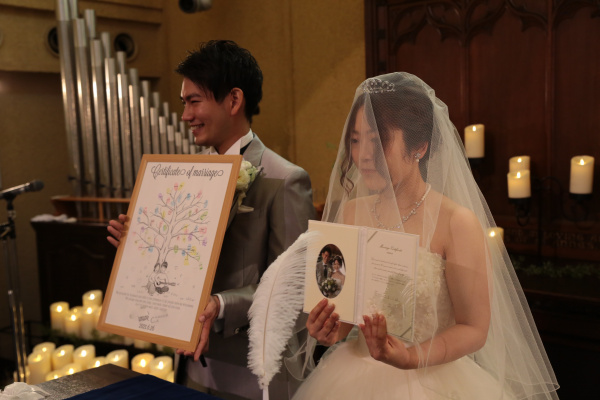 新潟県三条市 長岡市 新潟市 結婚式場 ピアザデッレグラツィエ 人前式 かわいい グッズ