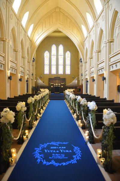 新潟県三条市 長岡市 新潟市 結婚式場 披露宴 レポート パーティレポート ウェディングドレス 挙式 ブルーバージンロード